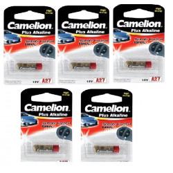 5 Battery 12 v alkaline a27 (1pc bl) batteries 18mah for parkt