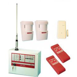 Kit central alarma inlambrica 5 zonas 27.12mhz sirio 2005 alarma antirrobo alarma electronica