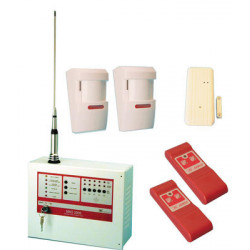Pack alarm central wireless 5 zones 27.12mhz sirio 2005 alarm anti theft electronic device alarm