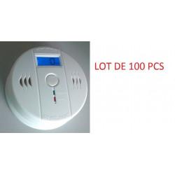 100 Autonome sensor kohlenmonoxid-detektor 9v co en50291 typ b geruchloses gas erkennung alarm summer