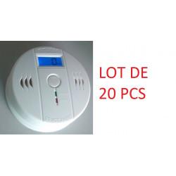 20 Autonome sensor kohlenmonoxid-detektor 9v co en50291 typ b geruchloses gas erkennung alarm summer