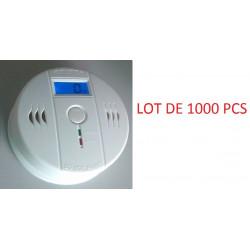 1000 Autonome sensor kohlenmonoxid-detektor 9v co en50291 typ b geruchloses gas erkennung alarm summer