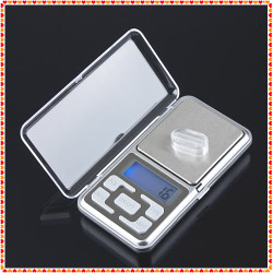 Electronic pocket scale 500g laptop weighs 0.1g weight measure small objects