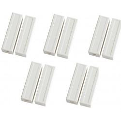 5 Contatto magnetico sporgente color crema detettore aperture