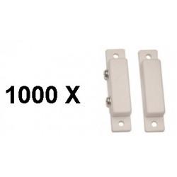 1000 contacts magnetiques capteur nf saillie adhesif blanc contacteur ouverture porte detecteur