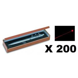 200 Ballpoint pen red laser pointer electronics lazer beam white led lamp (3 in 1) 143.1651