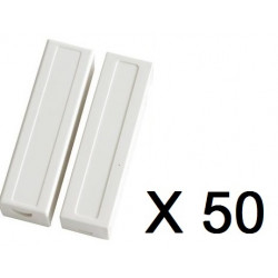 50 capteurs detecteur ouverture magnetique haa309 contacteur alarme contact nf saillie bs-2033