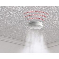 100 detector stand alone smoke detector buzzer, 9vdc autonomous smoke detectors fire alarm detection autonomous smoke detection