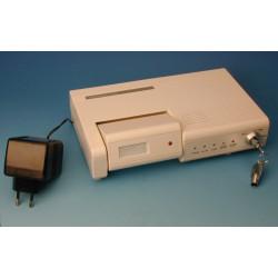 Compact electronic alarm with pir,infrared detector electronic siren, key security burglar alarm compact electronic alarm with p