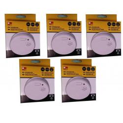 5 detector stand alone smoke detector buzzer, 9vdc autonomous smoke detectors fire alarm detection autonomous smoke detection sy