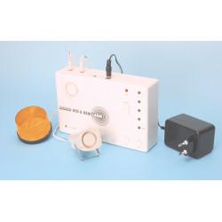 Alarm infrasonic alarm compact infrasound detector alarm siren flash house appartment commercial device flash house appartment c