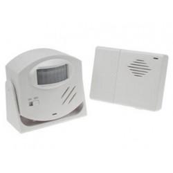 Timbre de alarma con detector pir de movimientos