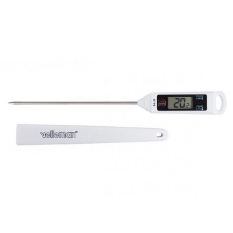 Sonde thermique thermometre cuisson viande cuisine dtp9 temperature chaleur 50°c~ 330° sonde rigide