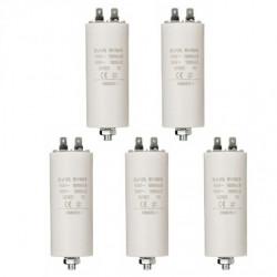 Capacitor 20 mf micro farad 450v 50 60 hz universal motor start capacitor with am terminal w1 11020