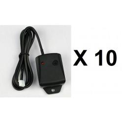 10 Detecteur capteur contact choc vibration 12v alarme automobile 957 antivols detection