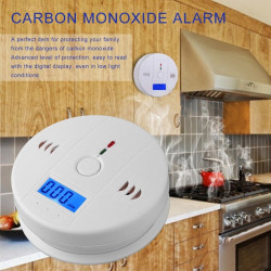 Autonomous sensor carbon monoxide detector co 9v en50291 type b odorless gas detection alarm buzzer