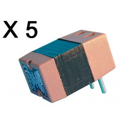 Lot de 5 convertisseurs tension 220v 110v 45w 50w changeur 220 110vca adaptateur electrique