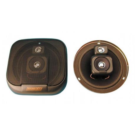 Loudspeaker 2 way flush mounting car sound loudspeaker, 100w, (sold in pair) flush mounting car loudspeakers 2 way car loudspeak