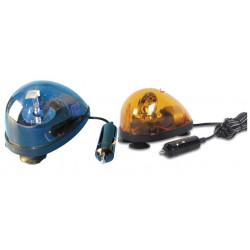 2 Girofaro ventosa 12vcc 5w ambar dl60 girofaros ambar dl60 gyrofaros electricos 1 azul y 1 naranja