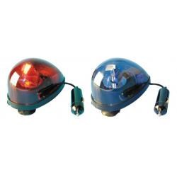 Girofaro ventosa 12vcc 5w 1 rojo y 1 azul dl60 girofaros ventosa