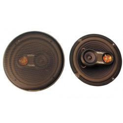Cassa acustica a tre vie 200w da incastro per autoveicolo (la coppia)