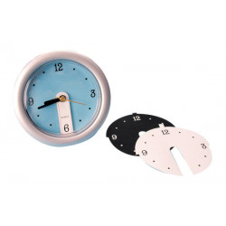 Pendulum of office with blue, white and black funds office clocks pendulum of office with blue, white and black funds office clo