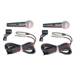 2 Microfono con cable de conexion