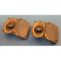 Loudspeaker 2 way flush mounting car sound loudspeaker,50w, (sold in pair)