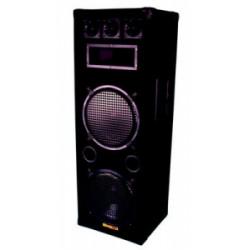 Altavoces acustico tres doble pistas 2 x 12'' 600w (por unidades) altavoces acusticos tres pistas full grid altavoz