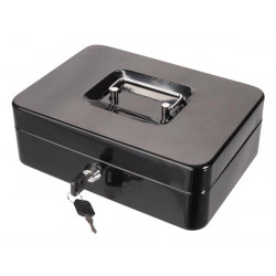 CASH BOX - WITH EURO COIN TRAY - 18 x 25 x 9 cm