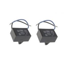 2 Condensatore metallizzato CBB61 per ventilatore da soffitto a motore 500VAC 4uF 4mf