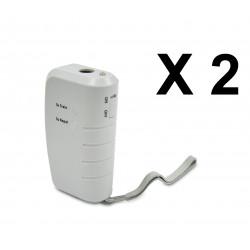 Repelente perros por ultrasonidos 2 frecuencias 7m para adiestramiento