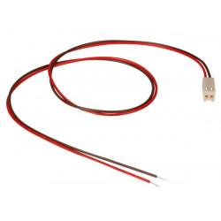 CONNECTEUR AVEC CABLES POUR CI FEMELLE 2 CONTACTS 40cm BTWF2/40