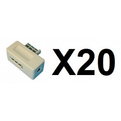 20 Plug us modular telephone plug, 8 contacts modular telephone plugs plug us modular telephone plug, 8 contacts modular