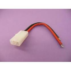 Cordon dore tamiya femelle cable 14awg 10 cm gforce rmgf-1072-003