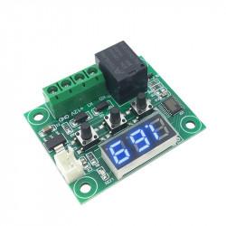 Thermostat Digital 12v contrôle température -50 a +110C sonde chaud froid w1209 relais 10a