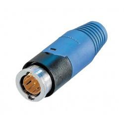 BNC 75ohm BNC plug neutric vcb75 conxnbnc75pns9