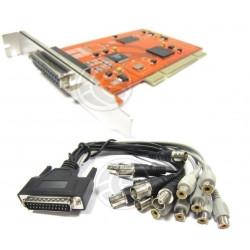 PCI Card 8 Channel Capture Card Surveillance Video Compatible 960H DH D1 Phone Remote
