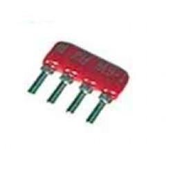 Netzwerk sil 3 Widerständen und 1 gemeinsamen 10 Ohm 4-pin resil3110k