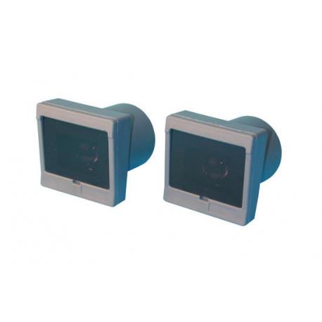 Ir schranke 20 40m 12vdc ac lichtschranken infrarotlichtschranken lichtschranke infrarotschranke sender und empfanger elektronis