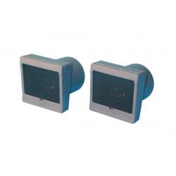 Celulas electronica infrarrojos 20 40m 24vca cc barreras infarrojas electronicas celula electronica infrarroja celulas