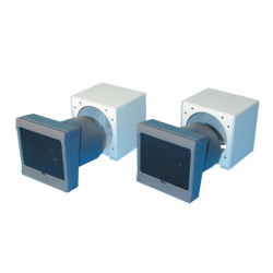 Alarm pack electronic infrared barrier i5012 + 2 metal case i55b alarm pack electronic alarm pack infrared cell metal case prote