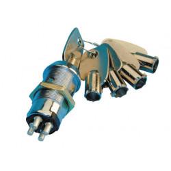 Keyswitch electric impulse keyswitch, 4 pin, 5 round keys with the same code keyswitch electric impulse keyswitch, 4 pin, 5 roun