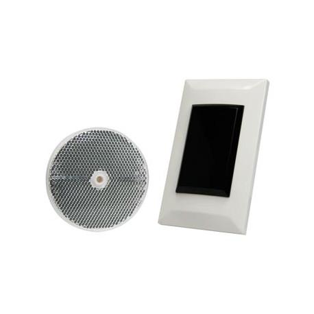 Einfache lichtschranke mit reflektor zum einbauen