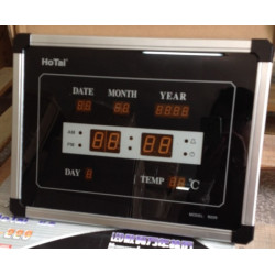 Led electronic clock digital electronic digital clock calendar alarm clock table wall