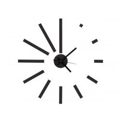 Horloge autocollante murale a monter soi-même moderne silencieuse eva polypropylene wcs4