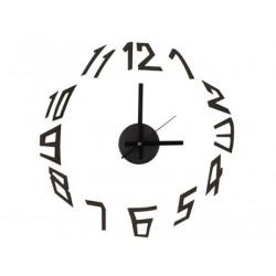 Horloge autocollante murale a monter soi-même clock pp moderne silencieuse eva polypropylene wcs5