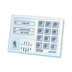 Keypad electronic wireless electronic alarm keypad for alarm control panel ja50, ja50r, 30 60m 433mhz access control keypad wire