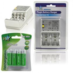 Carica batterie plug in hq