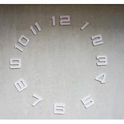 Lot de 12 chiffres 5x4.5cm pour horloge murale a monter soi meme mecanisme a quartz